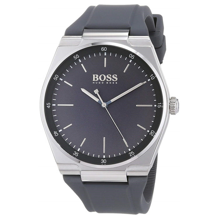 Hugo Boss Men's 1513564 Magnitude Grey Silicone Watch