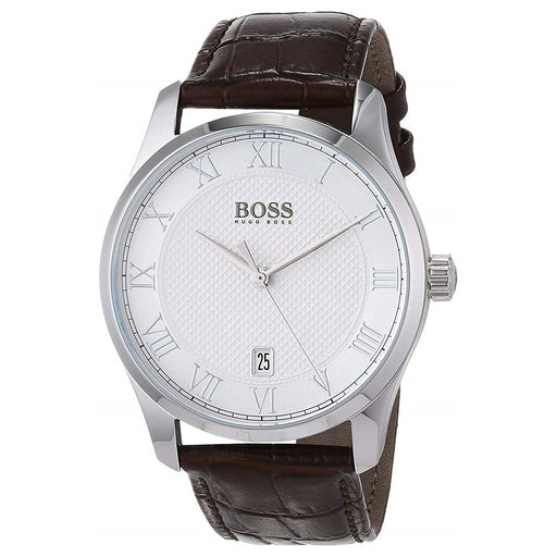 Hugo Boss Men's 1513586 Master Brown Leather Watch