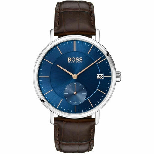 Hugo Boss Men's 1513639 Corporal Brown Leather Watch