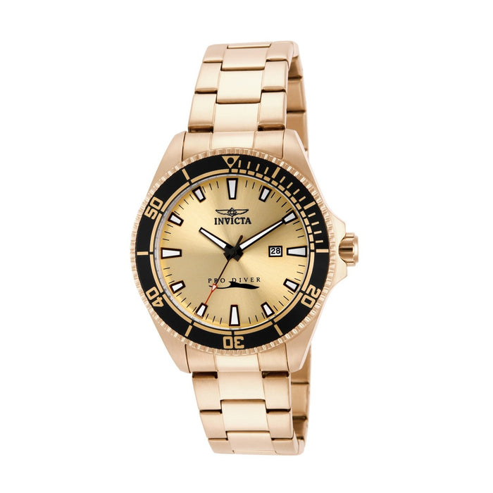 Invicta Men's 15186 Pro Diver Gold-Tone Stainless Steel Watch