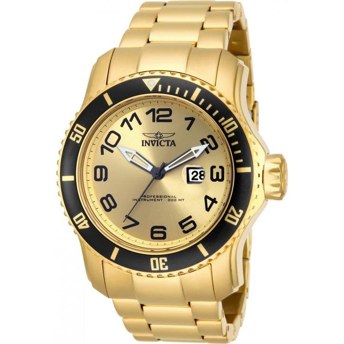 Invicta Men's 15350 Pro Diver Gold-Tone Stainless Steel Watch