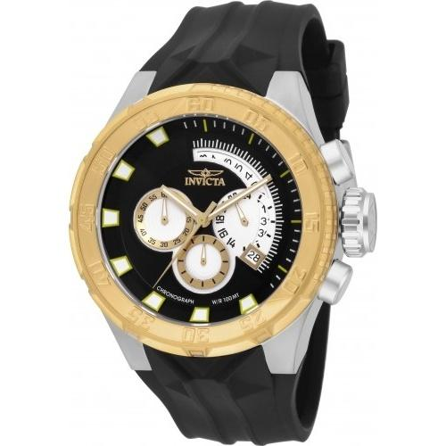 Invicta Men's 16923 I-Force Multi-Function Black Polyurethane Watch