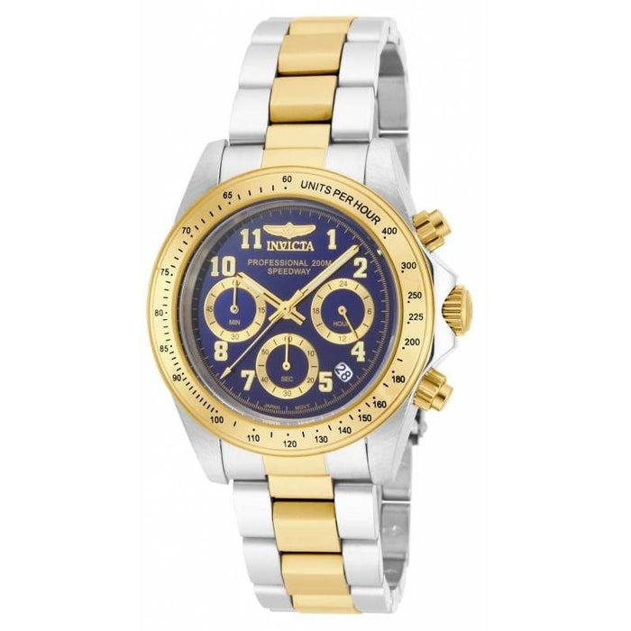 Invicta Men's 17028 Speedway Gold-Tone and Silver Stainless Steel Watch