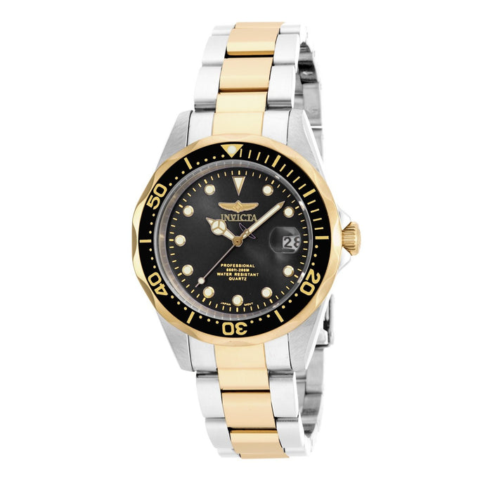 Invicta Men's 17049 Pro Diver Gold-tone and Silver Stainless Steel Watch