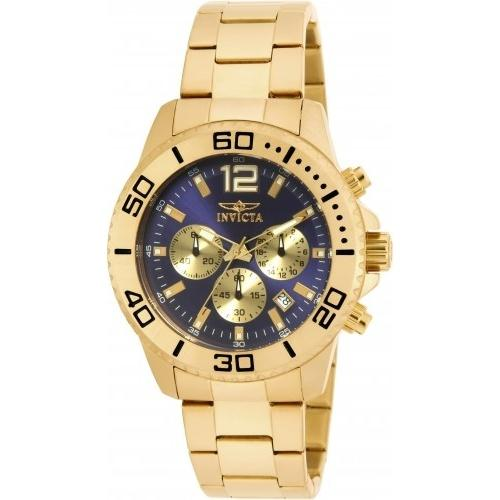 Invicta Men's 17402 Pro Diver Chronograph Gold-tone Stainless Steel Watch
