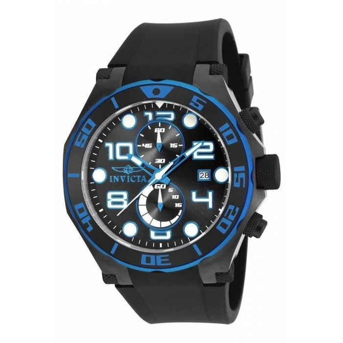 Invicta Men's 17816 Pro Diver Multi-Function  Black Polyurethane Watch