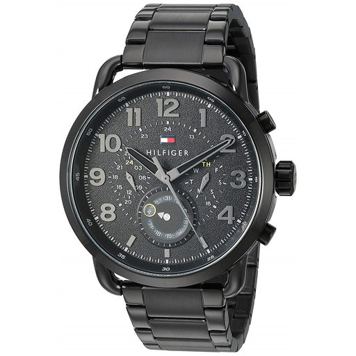 Tommy Hilfiger Men's 1791423 Briggs Black Stainless Steel Watch