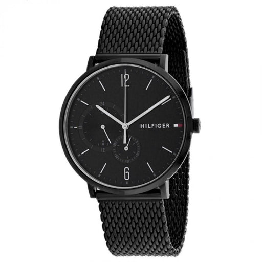 Tommy Hilfiger Men's 1791507 Analog Black Stainless Steel Watch
