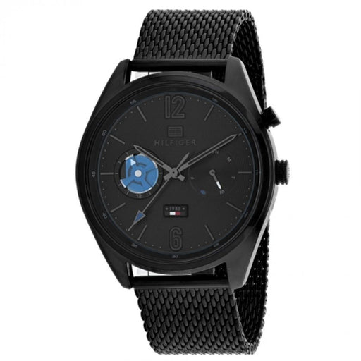 Tommy Hilfiger Men's 1791547 Deacan Black Stainless Steel Watch