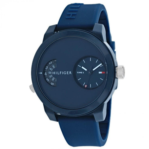 Tommy Hilfiger Men's 1791556 Sport Blue Silicone Watch