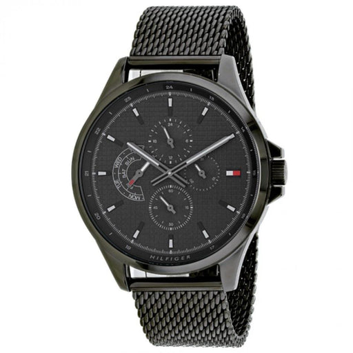 Tommy Hilfiger Men's 1791613 Shawn Black Stainless Steel Watch