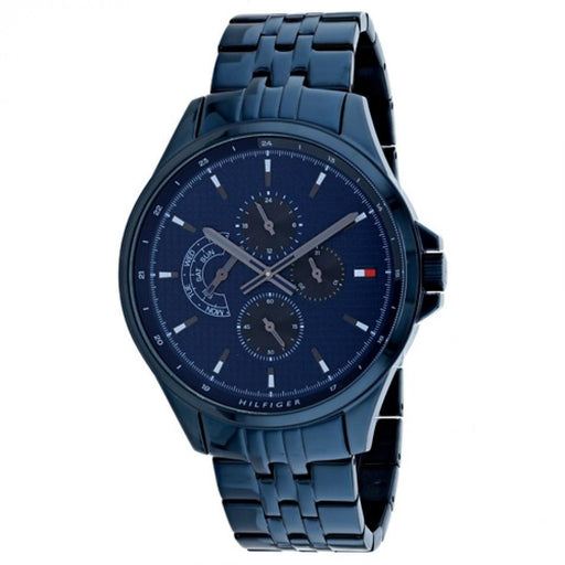 Tommy Hilfiger Men's 1791618 Date Blue Stainless Steel Watch