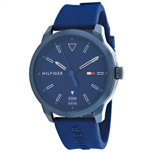 Tommy Hilfiger Men's 1791621 Sneaker Blue Silicone Watch
