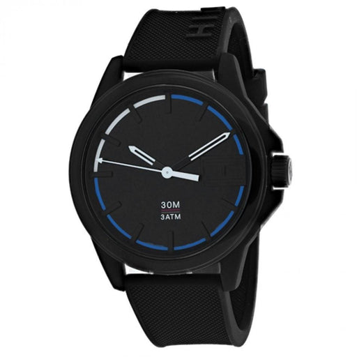 Tommy Hilfiger Men's 1791624 Sneaker Black Silicone Watch