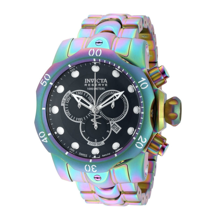 Invicta Men's 19764 Reserve Venom Iridescent Stainless Steel Watch