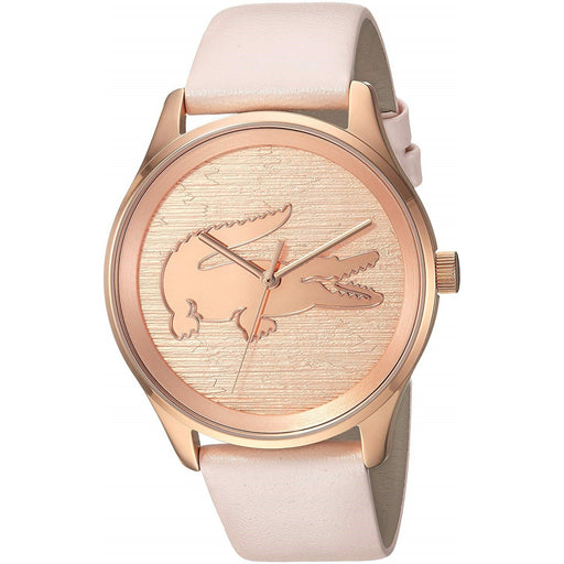 Lacoste Women's 2000997 Victoria Pink Leather Watch