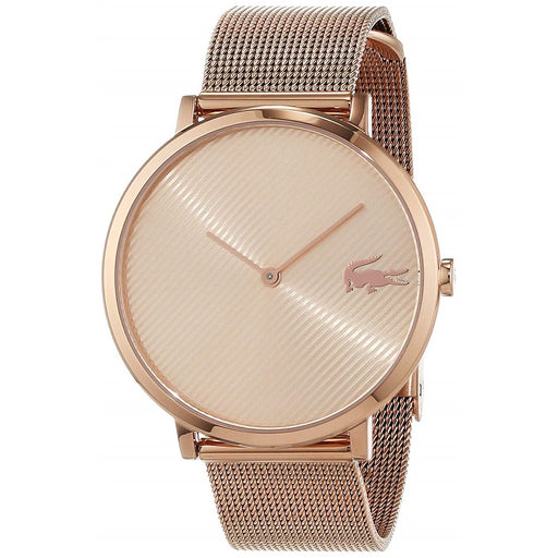 Lacoste Women's 2001028 Moon Rose Gold-Tone Stainless Steel Watch
