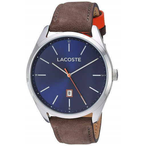 Lacoste Men's 2010910 San Diego Brown Leather Watch
