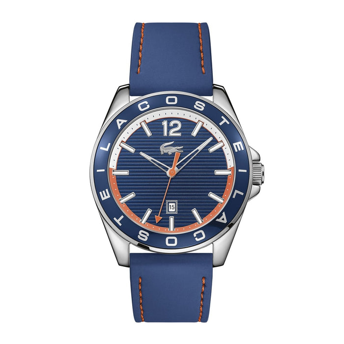 Lacoste Men's 2010928 Westport Blue Silicone Watch