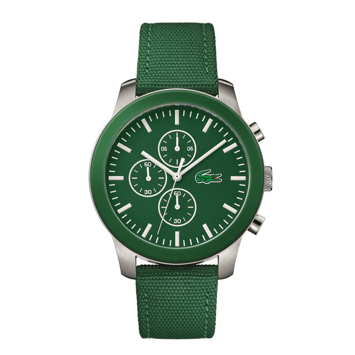 Lacoste Men's 2010946 Nikita Green Nylon Watch