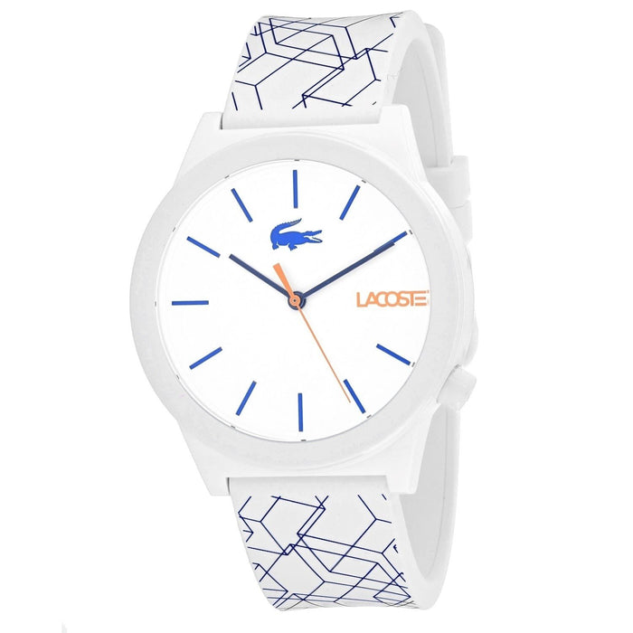 Lacoste Men's 2010956 Motion Two-Tone Silicone Watch