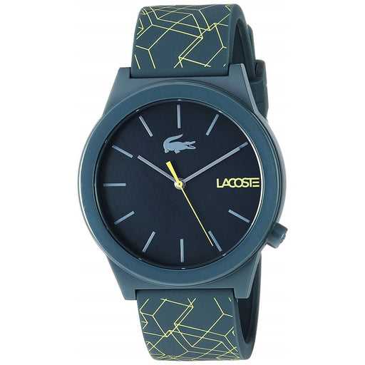 Lacoste Men's 2010958 Motion Two-Tone Silicone Watch