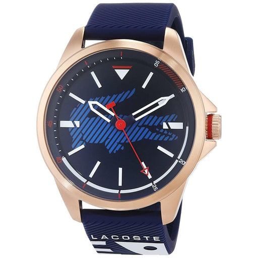 Lacoste Men's 2010964 Analogue Blue Silicone Watch