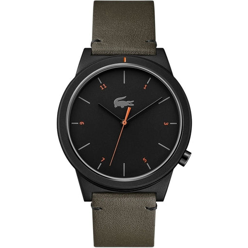Lacoste Men's 2010991 Motion Green Leather Watch