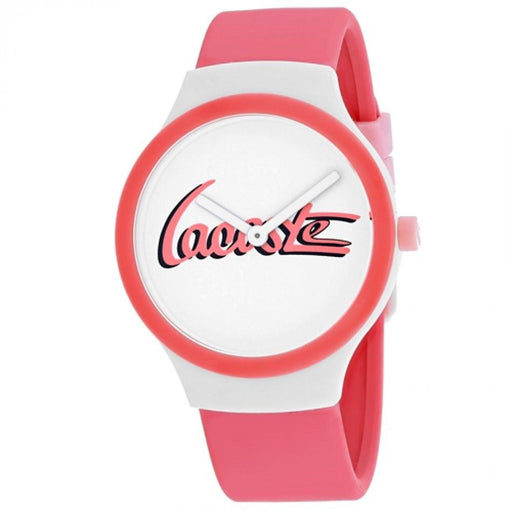 Lacoste Women's 2020131 Goa Pink Silicone Watch