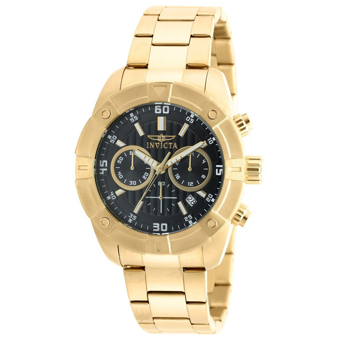 Invicta Men's 21470 Specialty Gold-tone Stainless Steel Watch