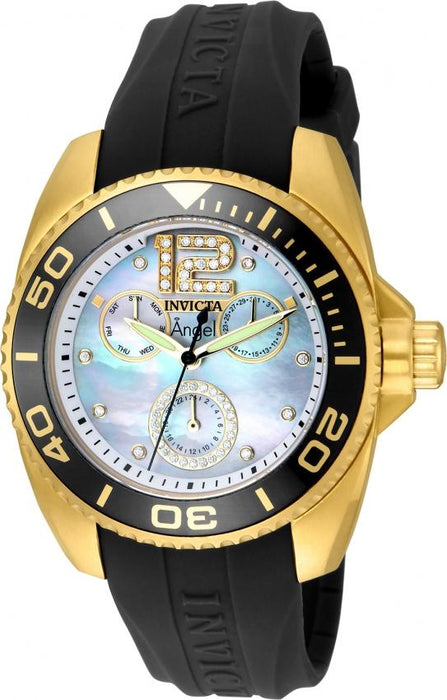 Invicta Women's 21704 Angel Grey Polyurethane Watch