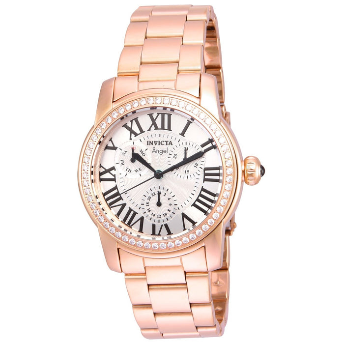 Invicta Women's 21706 Angel Rose-tone Stainless Steel Watch