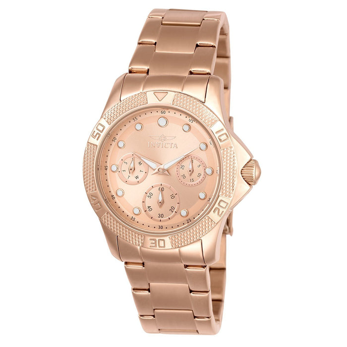 Invicta Women's 21765 Angel Rose-tone Stainless Steel Watch