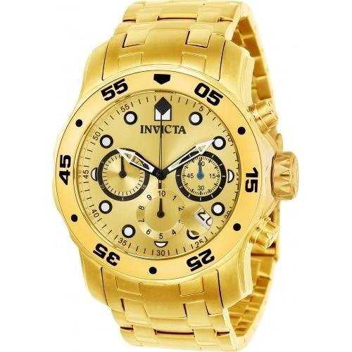 Invicta Men's 21924 Pro Diver Scuba Gold-Tone Stainless Steel Watch