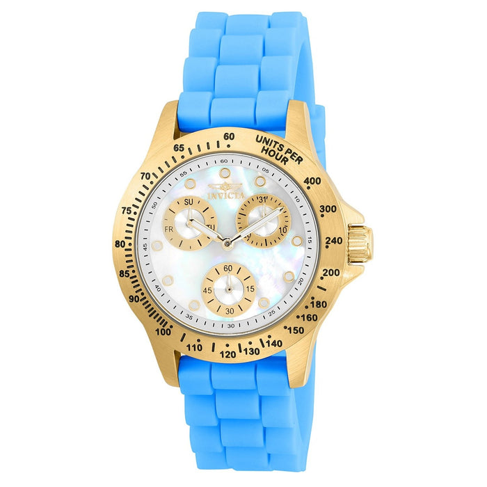 Invicta Women's 21979 Speedway Blue Silicone Watch