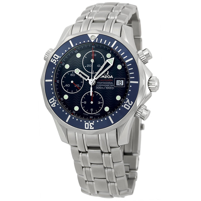 Omega Men's 2225.8 Seamaster James Bond Chronograph Automatic Stainless Steel Watch