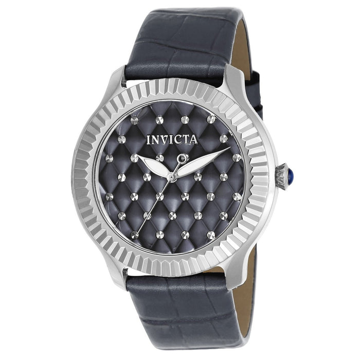 Invicta Women's 22565 Angel Grey Leather Watch