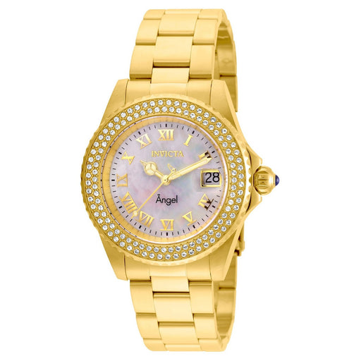 Invicta Women's 22875 Angel Gold-Tone and Silver Stainless Steel Watch