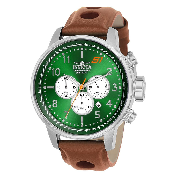 Invicta Men's 23108 S1 Rally Brown Leather Watch