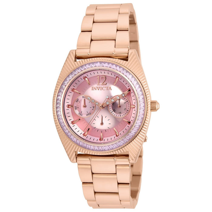 Invicta Women's 23464 Wildflower Rose-Tone Stainless Steel Watch