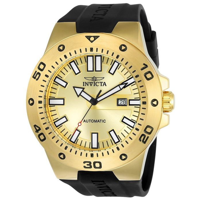 Invicta Men's 23484 Pro Diver Automatic Black Silicone Watch