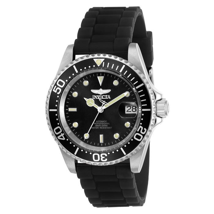 Invicta Men's 23678 Pro Diver Automatic Black Silicone Watch