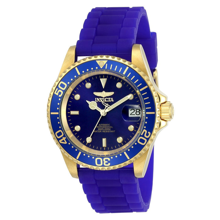 Invicta Men's 23682 Pro Diver Automatic Blue Silicone Watch