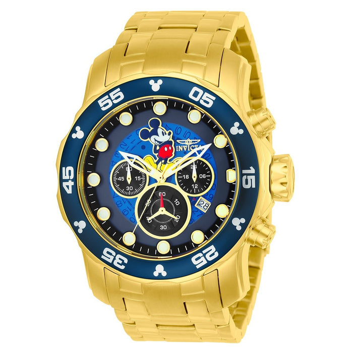 Invicta Men's 23766 Disney Mickey Mouse Gold-Tone Stainless Steel Watch
