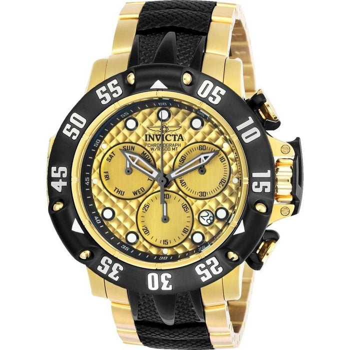 Invicta Men's 23805 Subaqua Black and Gold-Tone Stainless Steel Watch