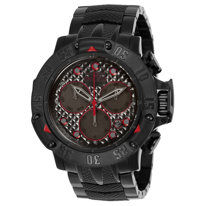Invicta Men's 23809 Subaqua Black Stainless Steel Watch