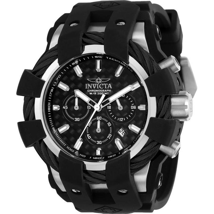 Invicta Men's 23855 Bolt Black Polyurethane Watch