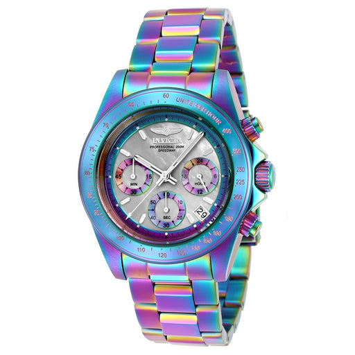 Invicta Men's 23942 Speedway Iridescent Stainless Steel Watch