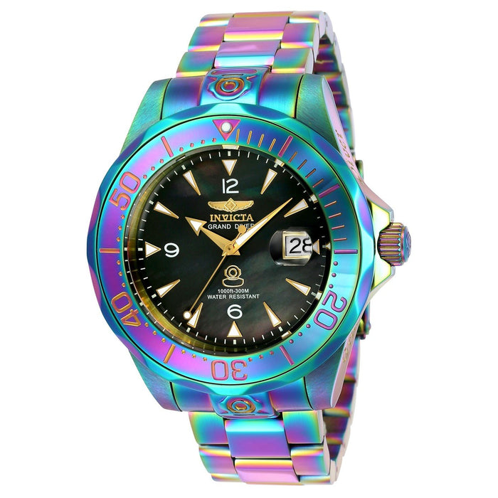 Invicta Men's 23943 Pro Diver Automatic Iridescent Stainless Steel Watch
