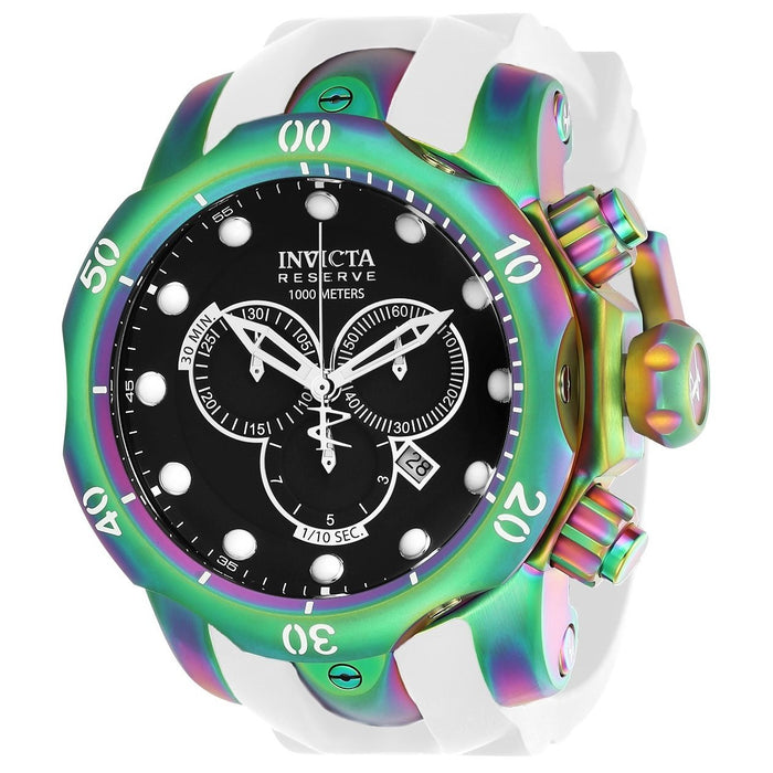 Invicta Men's 24061 Venom White Silicone Watch